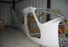 glastar kit fuselage