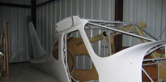 glastar kit fuselage