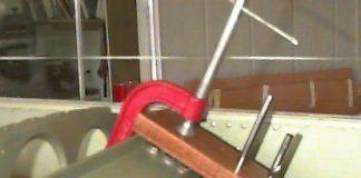 Strut drilling jig