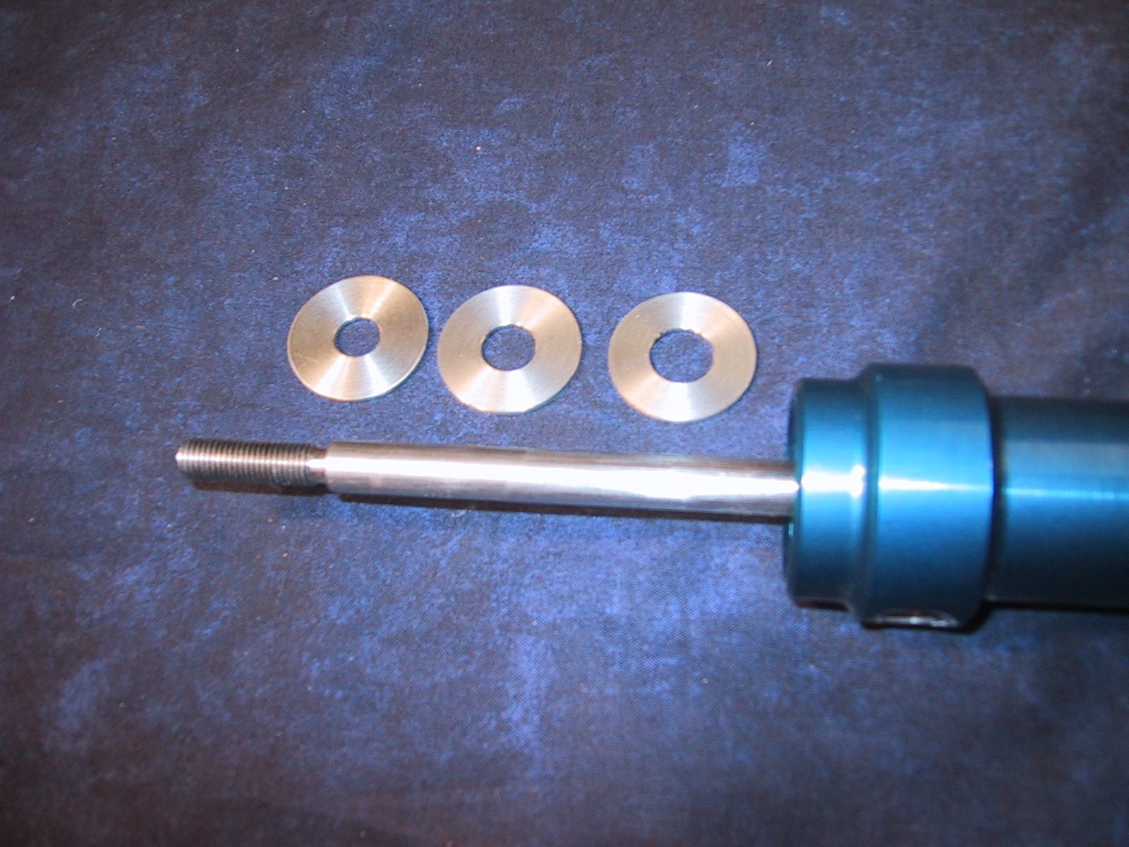 """Glasair has in stock three different number stainless steel washers. The (522-5626-003) washer has a 3/8"""" ID inner hole for use in the G-I and II main gear retract actuators which also have a 3/8"""" shaft. The (522-5626-001) washer has a 7/16"""" ID hole for use in the G-I and II nose gear actuator and the G-III main gear actuators. The (522-5626-005) washer has a ½"""" ID for use in the G-III nose gear actuator."""