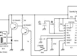 Figure 1. Schematic Diagram, Digital TDR Fuel Transfer Controller