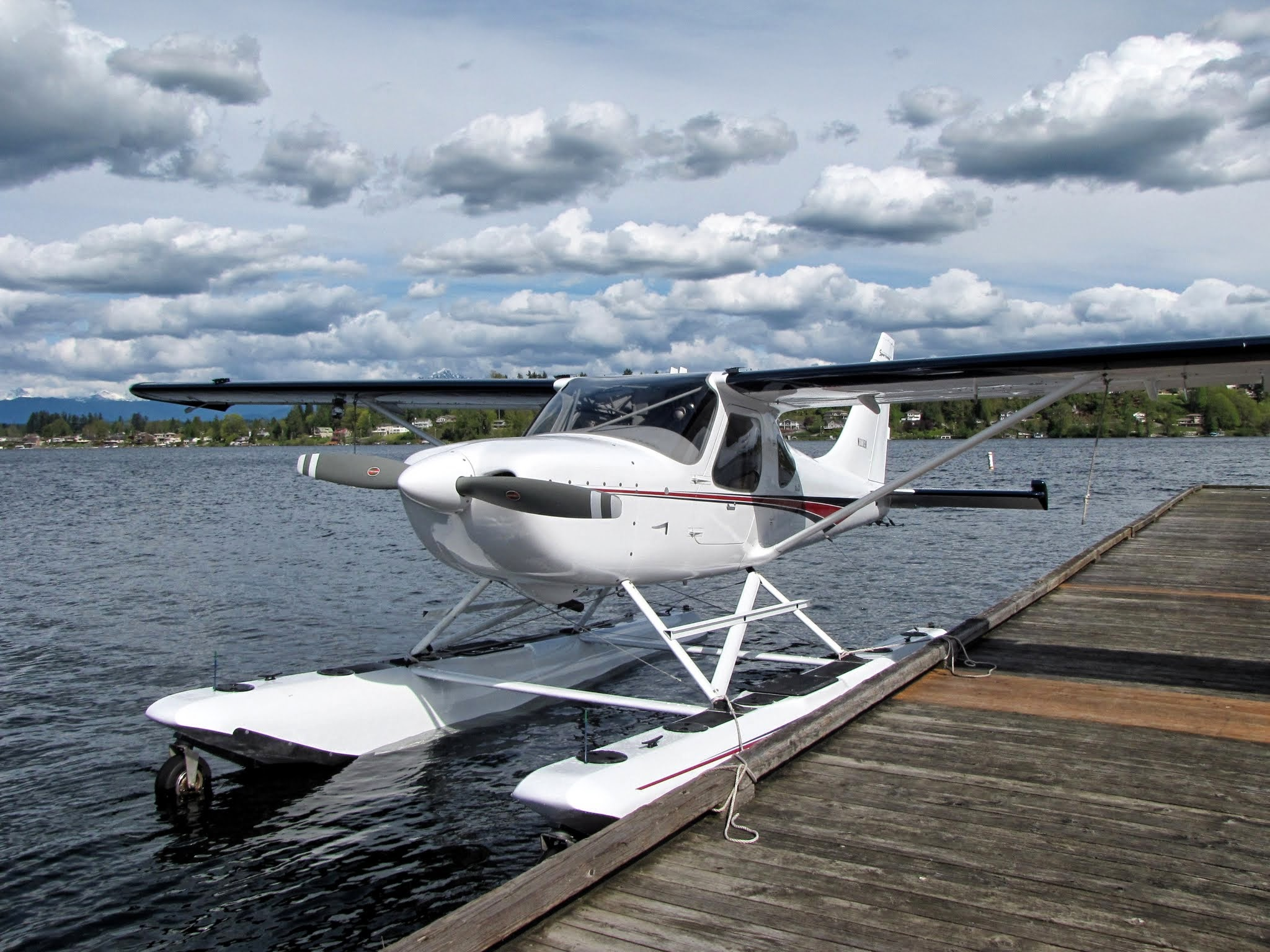 Glasair Sportsman on floats