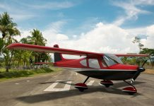 Rendering of the new Glasair Aviation Merlin LSA