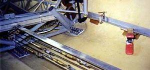 Glastar baggage floor