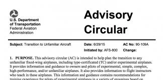 FAA Advisory Circular 90-109A