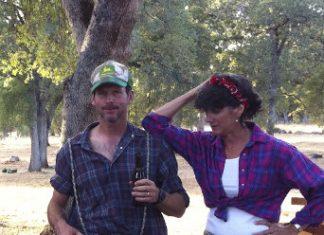 John and Brenda Lake in character at the 2011 Columbia gathering.