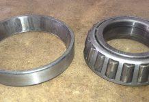GlaStar nose wheel bearings. Photo: Arlo Reeves.