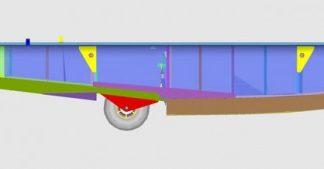 Zenair float CAD
