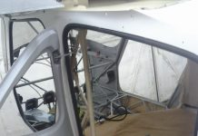 Cargo door mod installed on the GlaStar