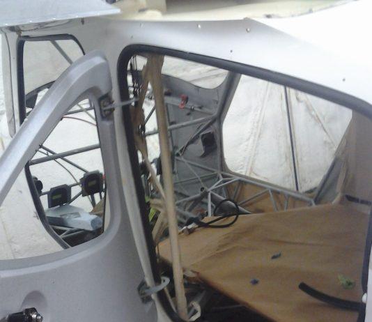 Cargo door mod installed on the GlaStar