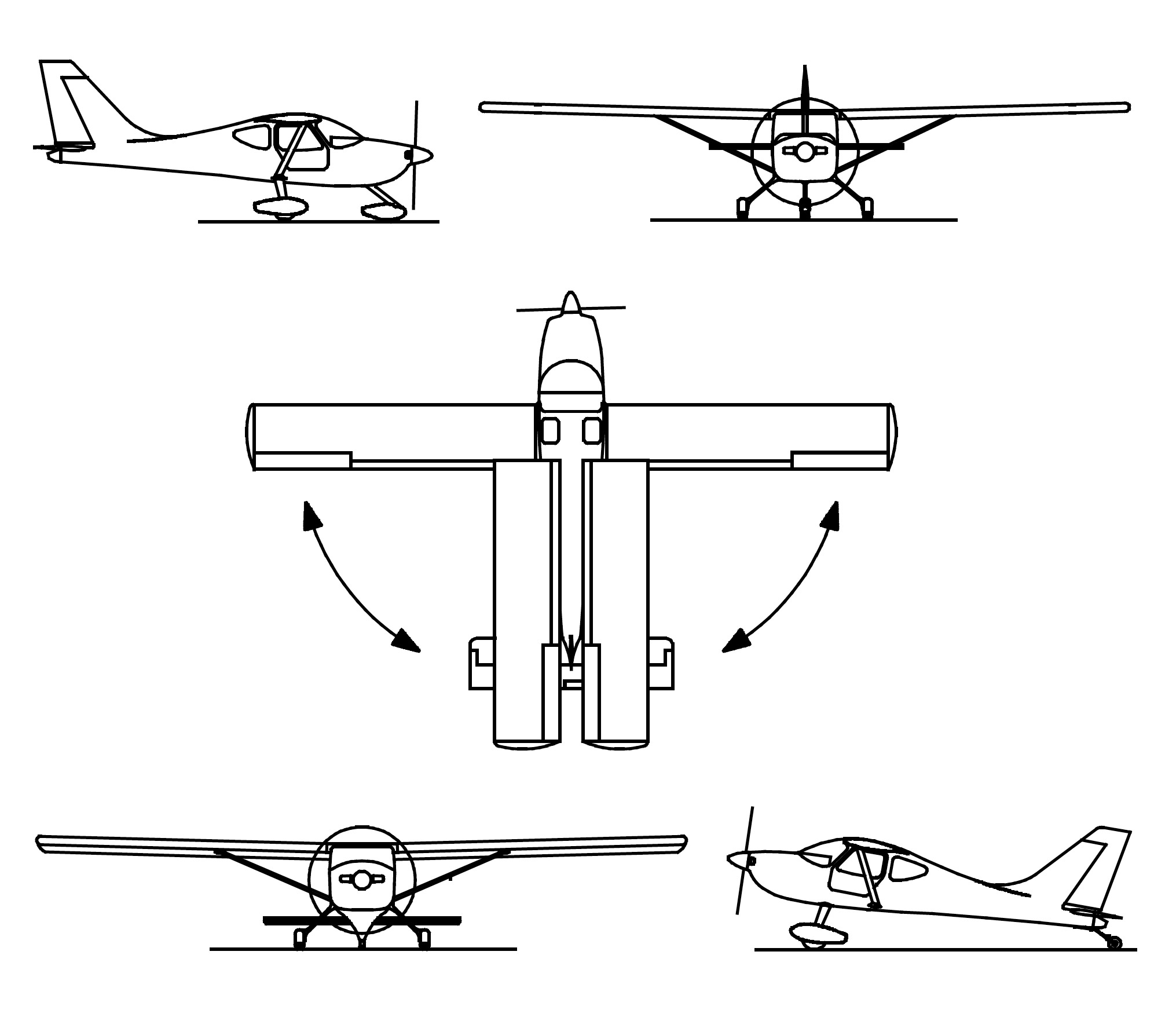 Glastar Specifications And Performance Glasair Aircraft Owners Plane Wing Diagram Weights Of Amateur Built Will Vary With Construction Technique Equipment Customer Reported Empty Have Varied From Approximately 1140