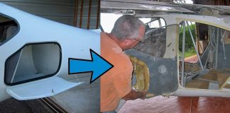 GlaStar enlarged cargo door modification