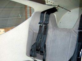Martin Baumer's GlaStar rear seat