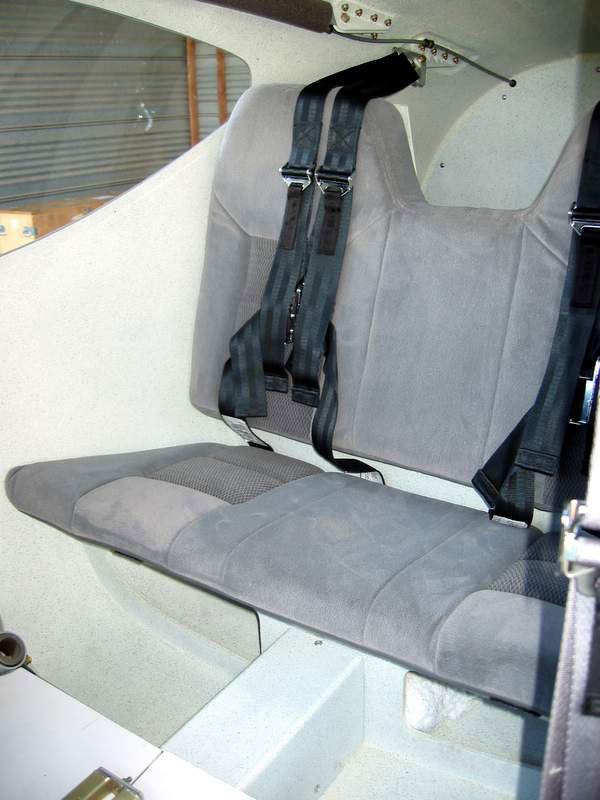 Martin Baumer's GlaStar rear seats