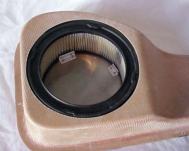 GlaStar air induction filter