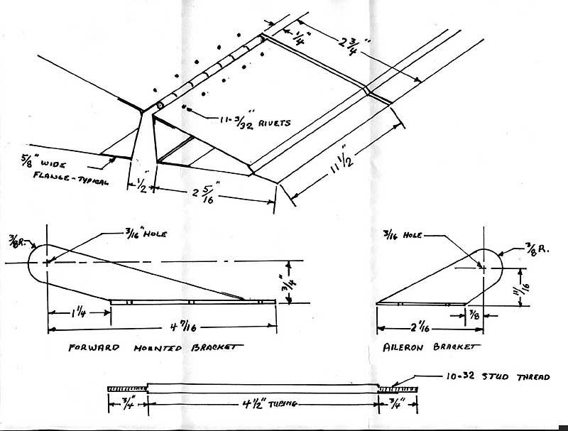 GlaStar Aileron servo Drawing by Robert Newman
