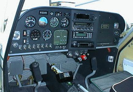 Sather Glastar metal instrument panel