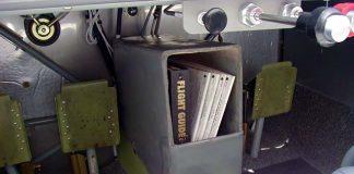 chart box under instrument panel