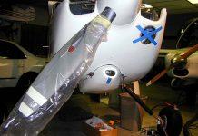 Van's cowl air scoop on GlaStar