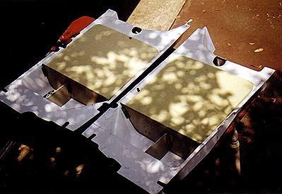 GlaStar seatpans with high-density foam