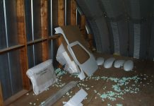 Keeping fiberglass parts in a hot attic comes with the risk of warping.