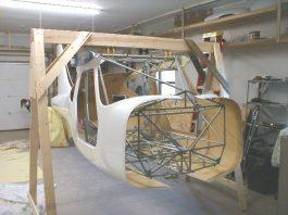 GlaStar fuselage assembly jig