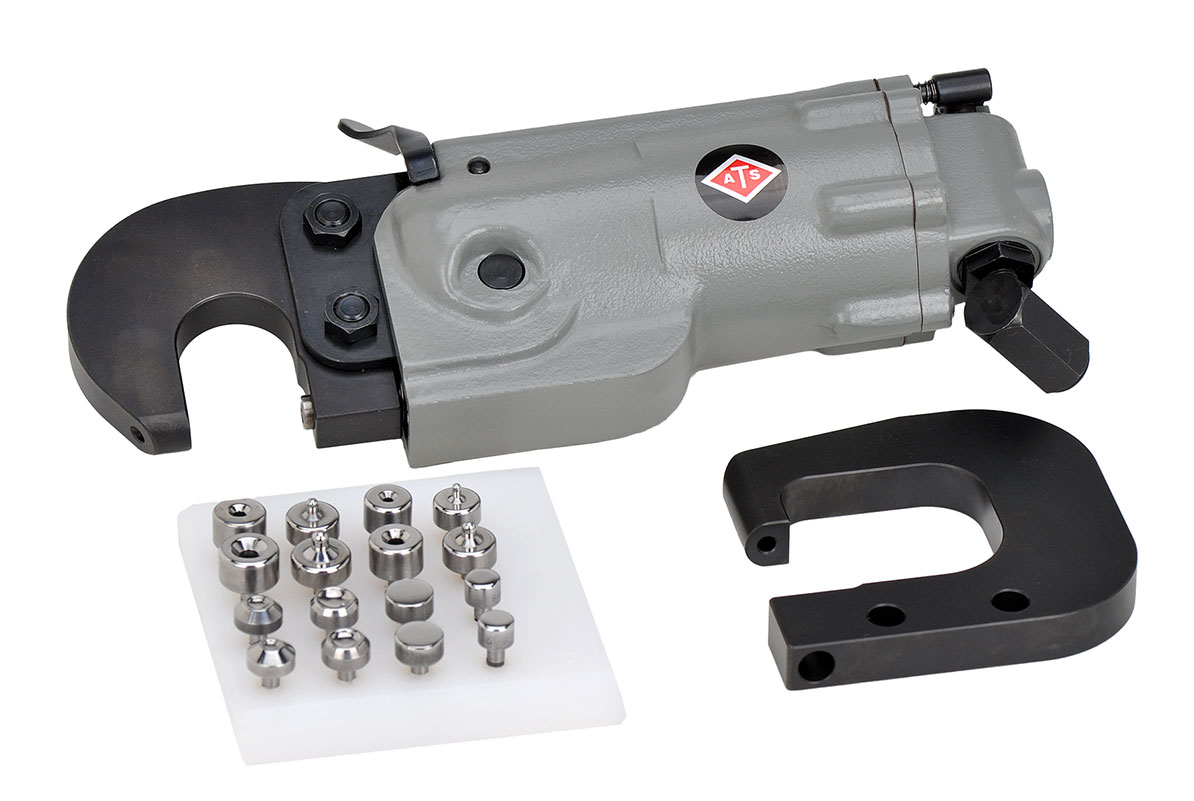 Pneumatic rivet squeezer from Aircraft Tool Supply Company