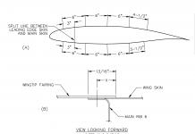 GlaStar wingtip fairing installation