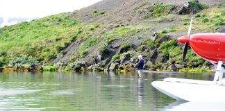 Fishing in Alaska is easy when the Glasair Sportsman takes you there