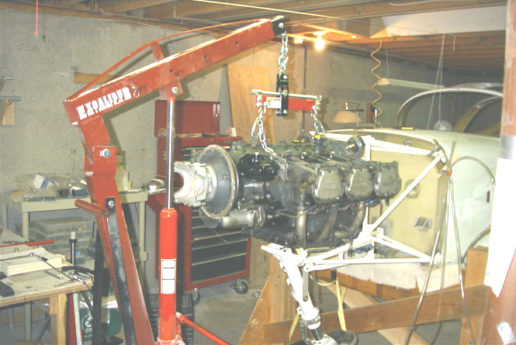Glasair III engine installation