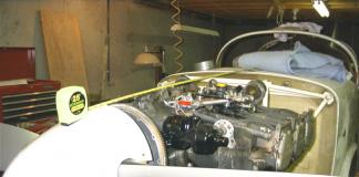 Glasair III engine installation