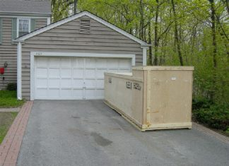 glastar kit delivered in driveway