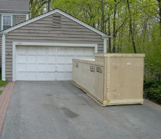 glastar kit delivered in driveway