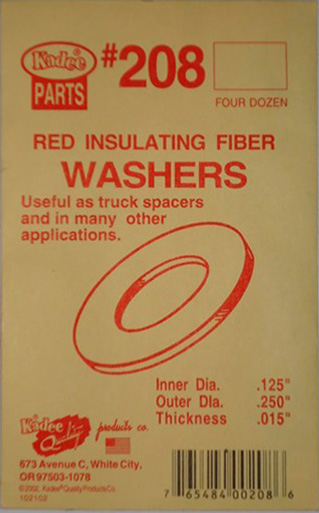 kadee-insulating-washers