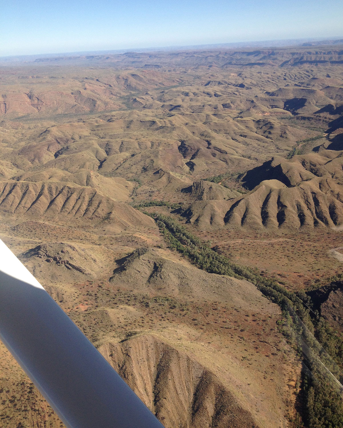 Bungle Bungles from 3500 feet.