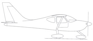 Glastar Side-view Drawing