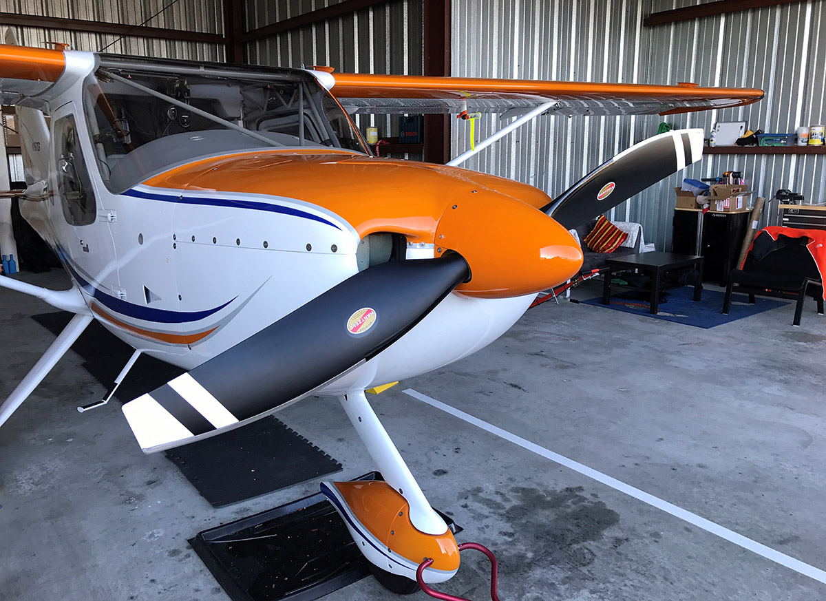 Switching from Hartzell Blended Airfoil to a Trailblazer