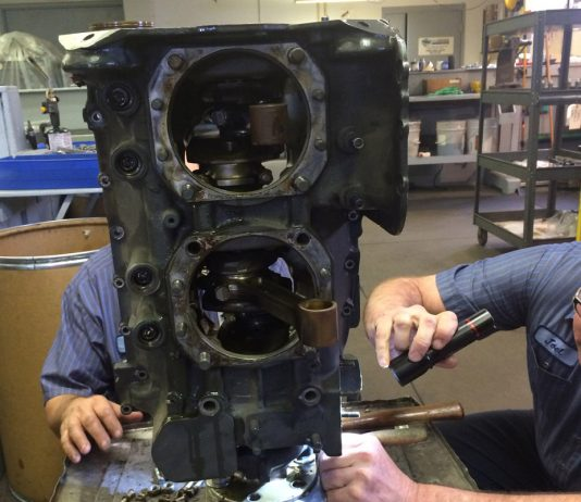 Engine disassembly