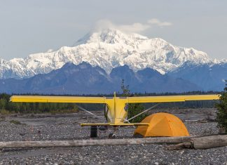 Glasair Sportsman in Alaska