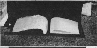 glasair flap plaster molds