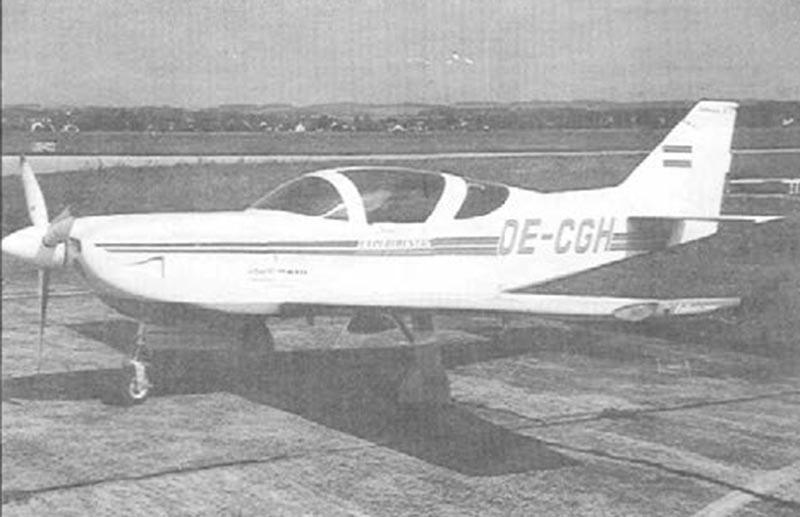 Hans Guttman's Glasair II-S RG, OE-CGH