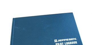Pilot logbook cover
