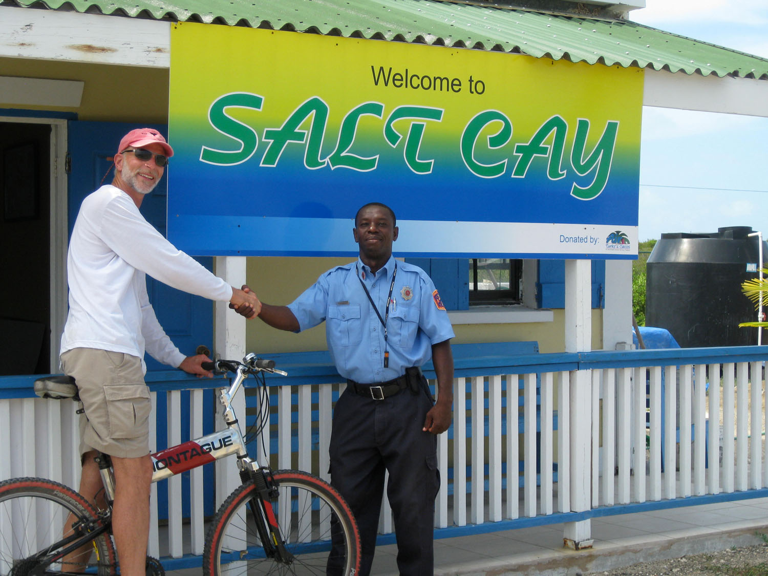 Salt Cay provided George Washington the food preservative for his army in the Revolutionary War