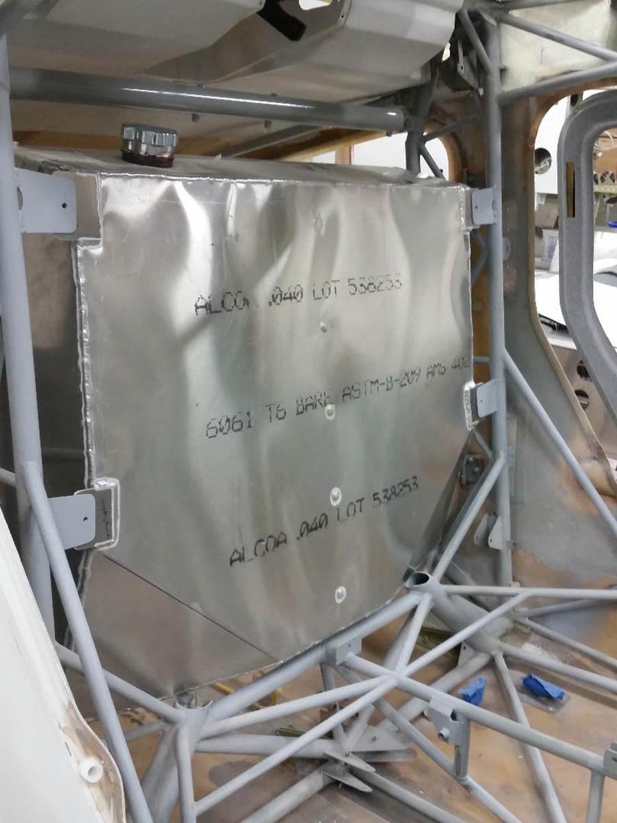 20 gallon aluminum fuel tank