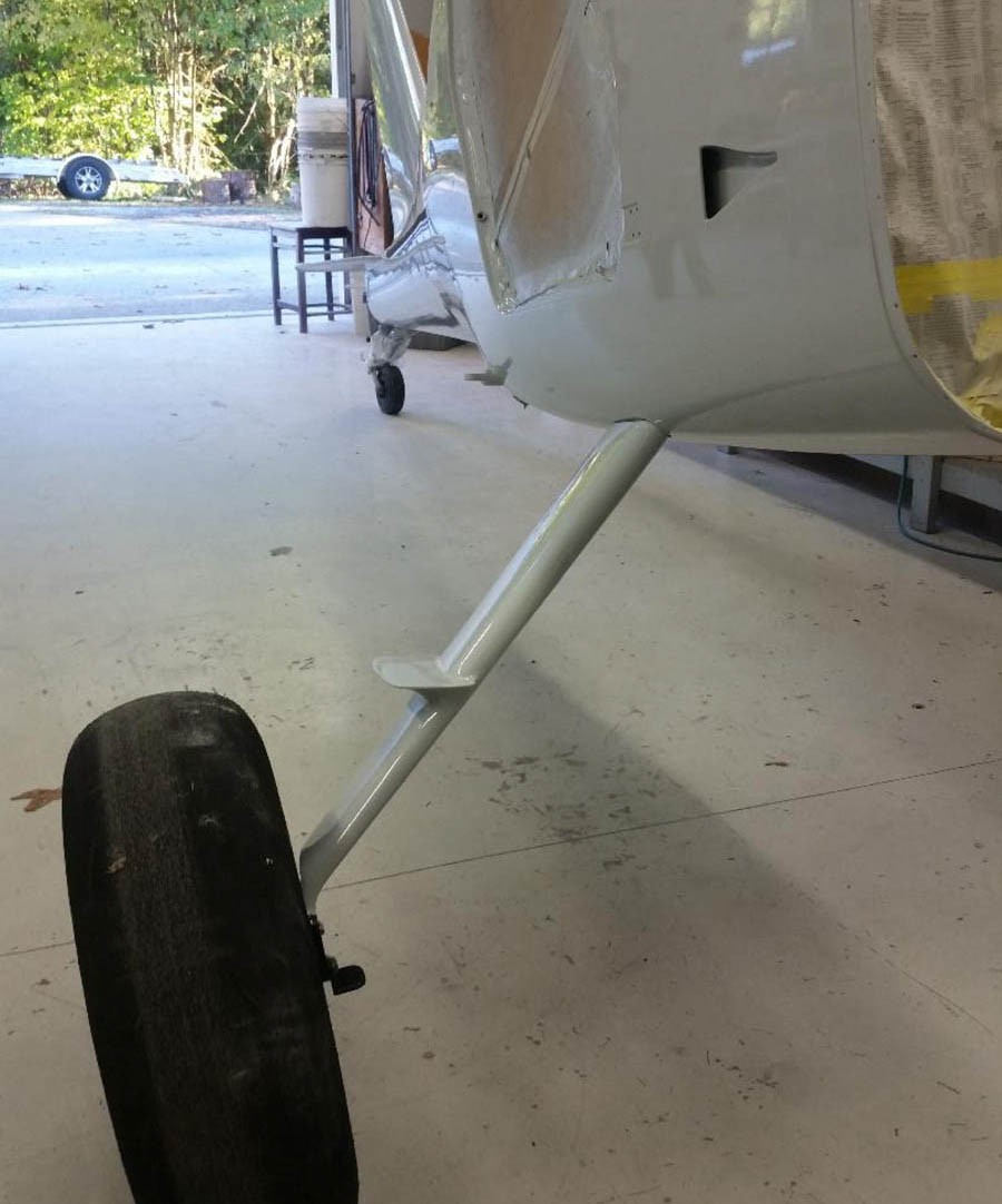 GlaStar extended heavy-duty landing gear