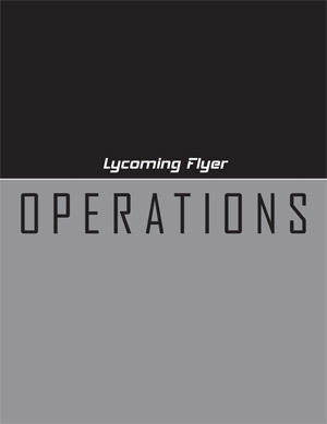 Lycoming Flyer – Operations