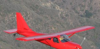 Chris Wills flying over the hills in Southern California