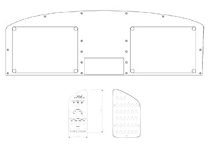 Instrument Panel CAD Drawings – Sportsman