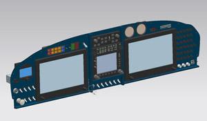 Glasair I Panel CAD Drawing – Dan Olson