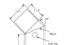 Jacking adapter drawing